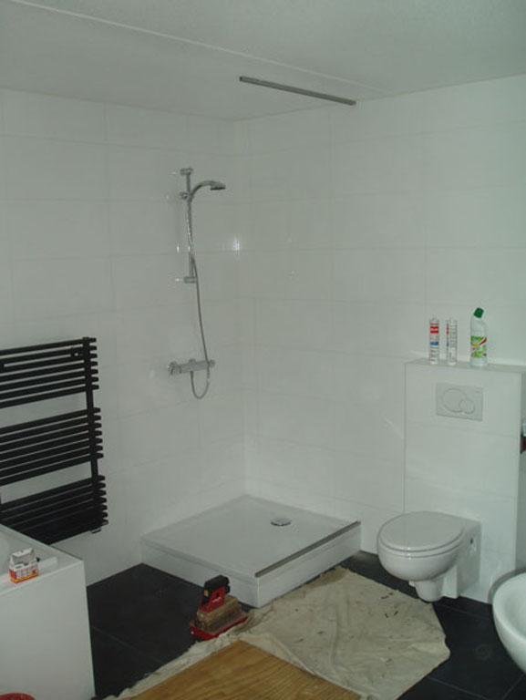 Glazen wanden badkamer in Rolde Drenthe - P&R beglazingen | Perfectie